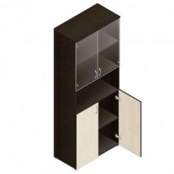 Шкаф для документов Шо-4СБр (прозр. стекло)