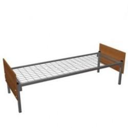 Кровать одноярусная (ЛДСП,сетка сварная)