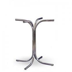 Подстолье Равенна Хром под круглый или квадратный стол