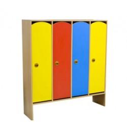 Шкаф для одежды 4-х секционный