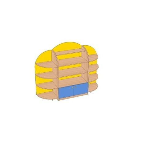 Стенка для игрушек «Солнышко»