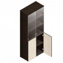 Шкаф для документов Шо-2Ср (прозр. стекло)