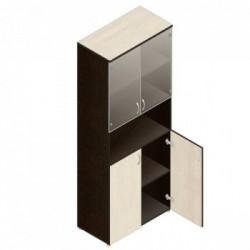 Шкаф для документов Р.Ш-4СТ (мат. стекло)