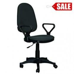 """Кресло офисное """"Престиж"""" черная ткань"""