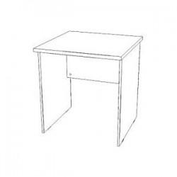 Стол письменный Мн.С-7 (700х700х754)
